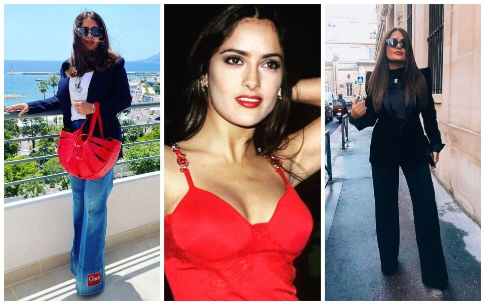 Como usar jeans aunque seas petite, segun Salma Hayek