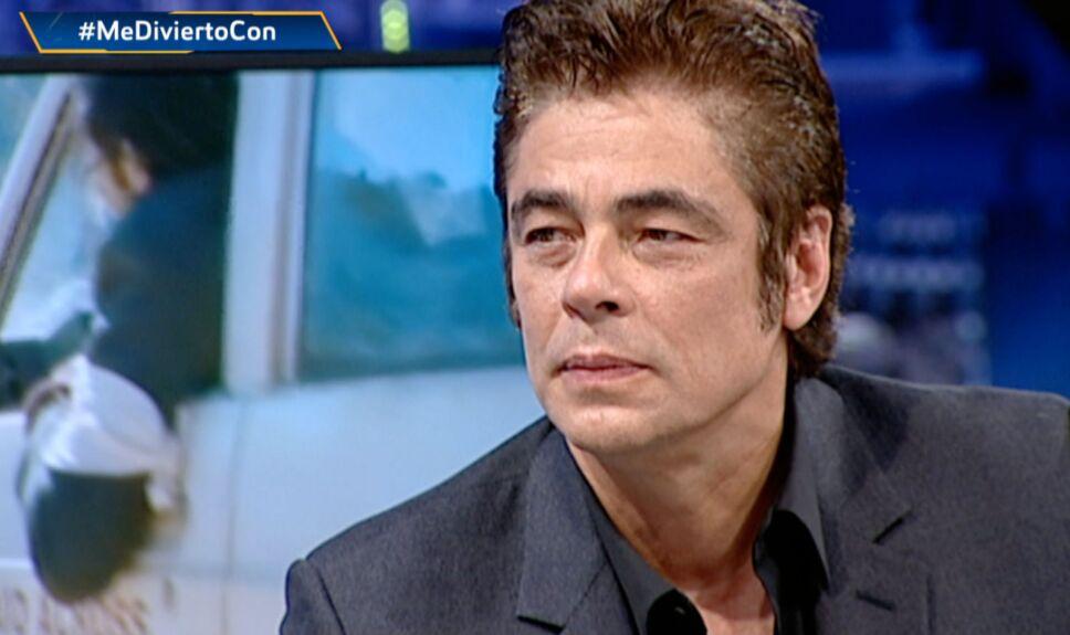 Benicio del Toro en El Hormiguero