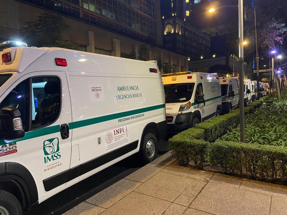 Ambulancias del IMSS 2020