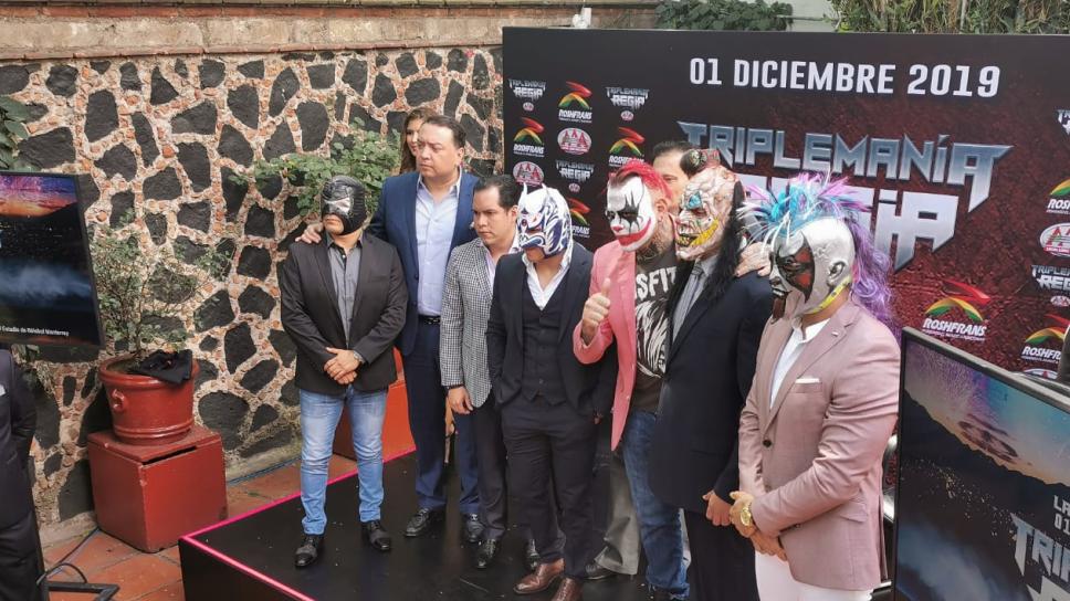Triplemanía Regia presenta cartel de locura