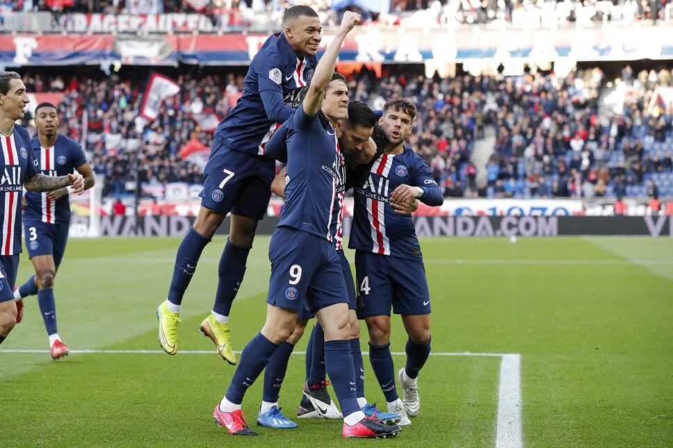 Paris Saint Germain, campeón de la Ligue 1 de Francia.