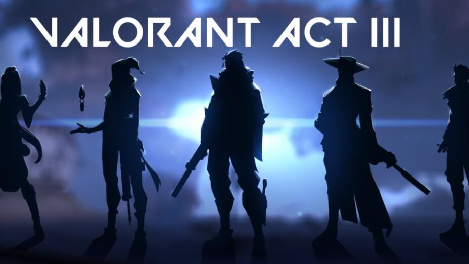 Agentes de Valorant act III