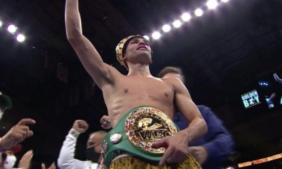 Ryan García campeón Consejo Mundial de Boxeo