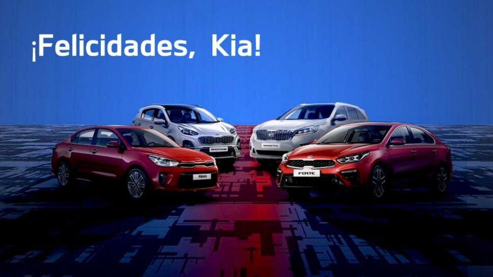 Kia Motors aniversario