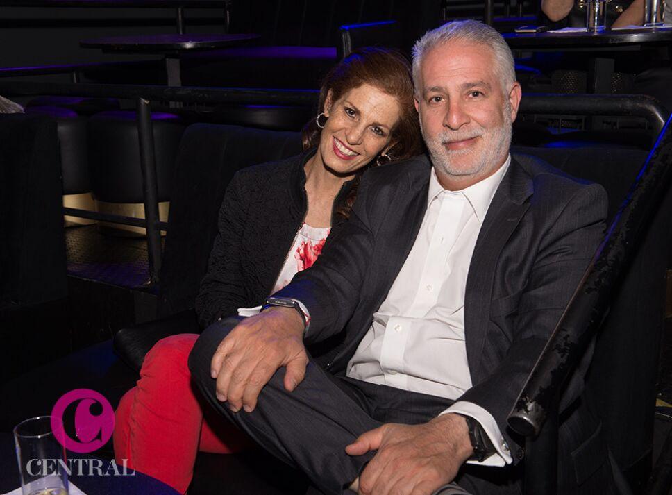 Claudia Marcucetti y Adolfo Rodríguez.