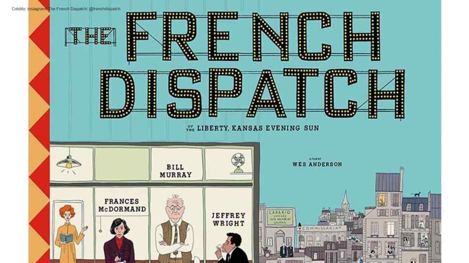 the French Dispatch poster wes anderson