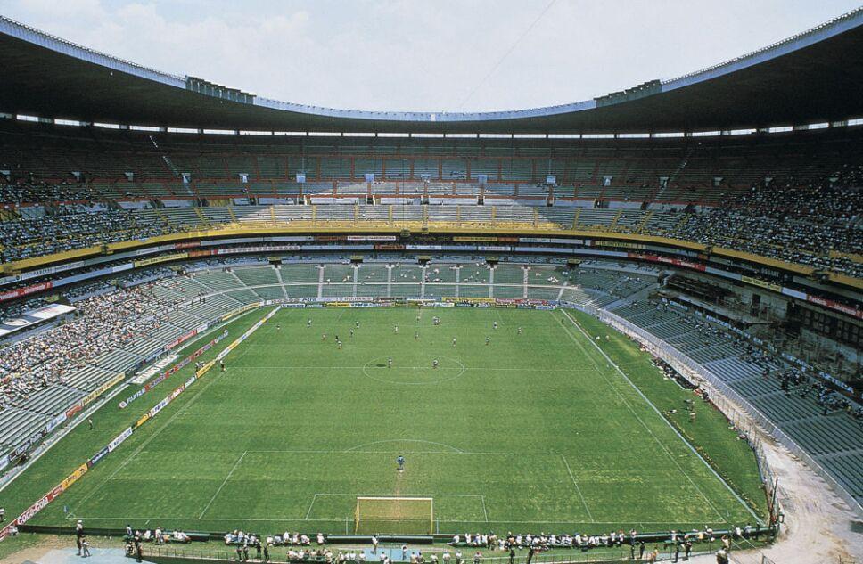 El Estadio Azteca fue construido en 1966