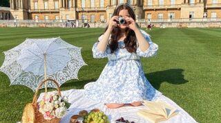 podrás hacer un picnic en los Jardines de Buckingham
