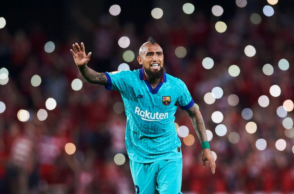 Arturo Vidal tiene talento para seguir en el Barcelona.