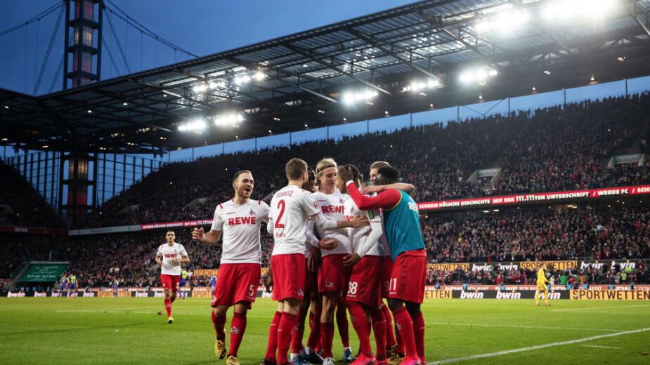El Colonia ha repuntado en la Bundesliga