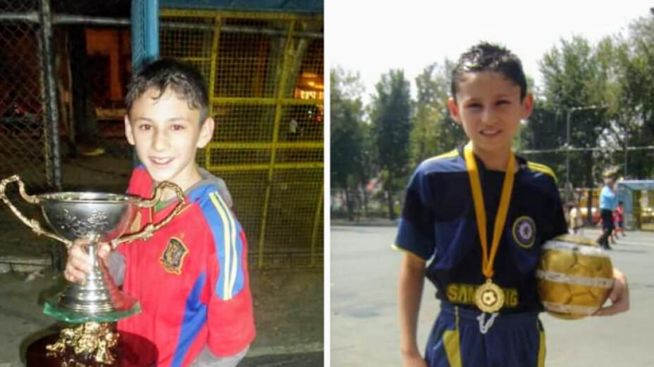"""""""El Rey"""" David Picasso campeón en fútbol a los 12 años de edad.png"""