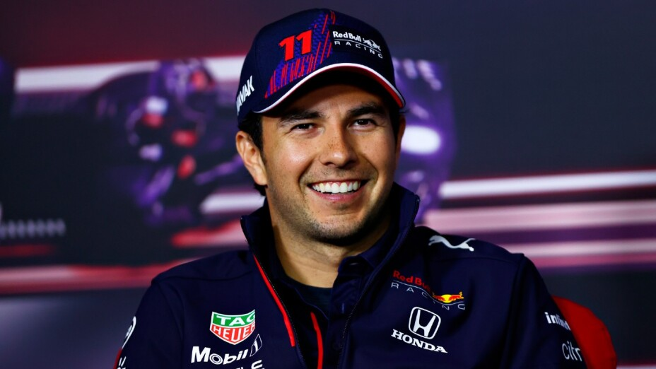 Checo Pérez, piloto de Red Bull Racing