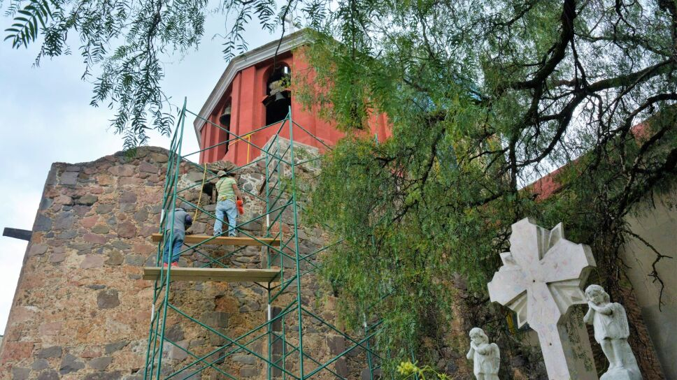 Culmina restauración de la Capilla del Rosario, dañada por los sismos de 2017, en la CDMX