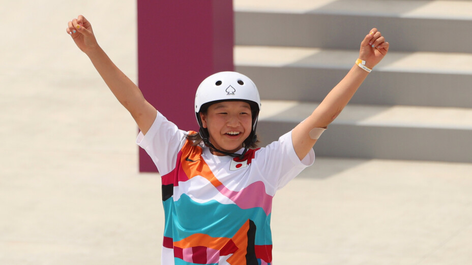 Japonesa Momiji Nishiya Tokyo 2020 medalla de oro