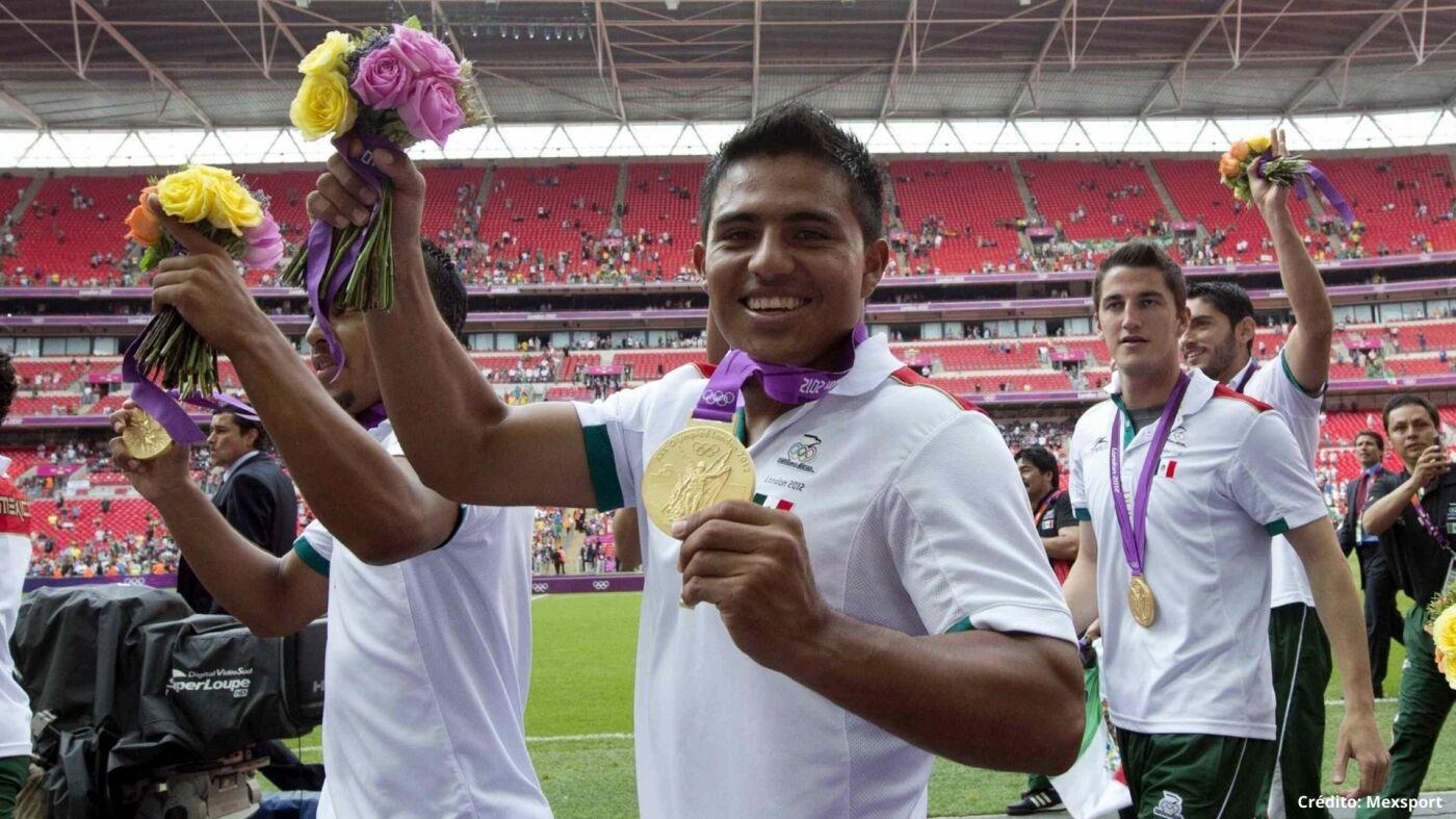 8 ganadores medalla de oro Londres 2012 méxico futbolistas.jpg