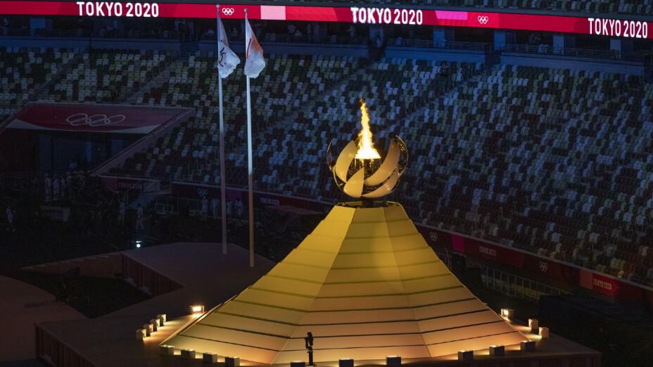 Pebetero de los Juegos Olímpicos de Tokyo 2020