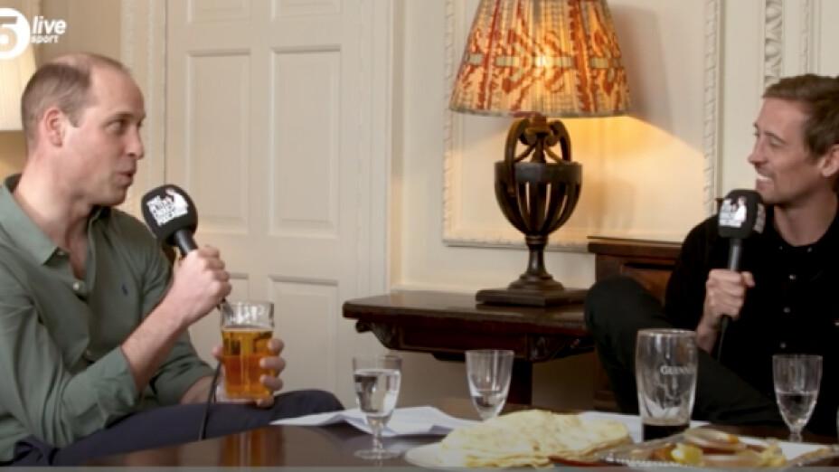 El Príncipe Harry en el Podcast de Peter Crouch