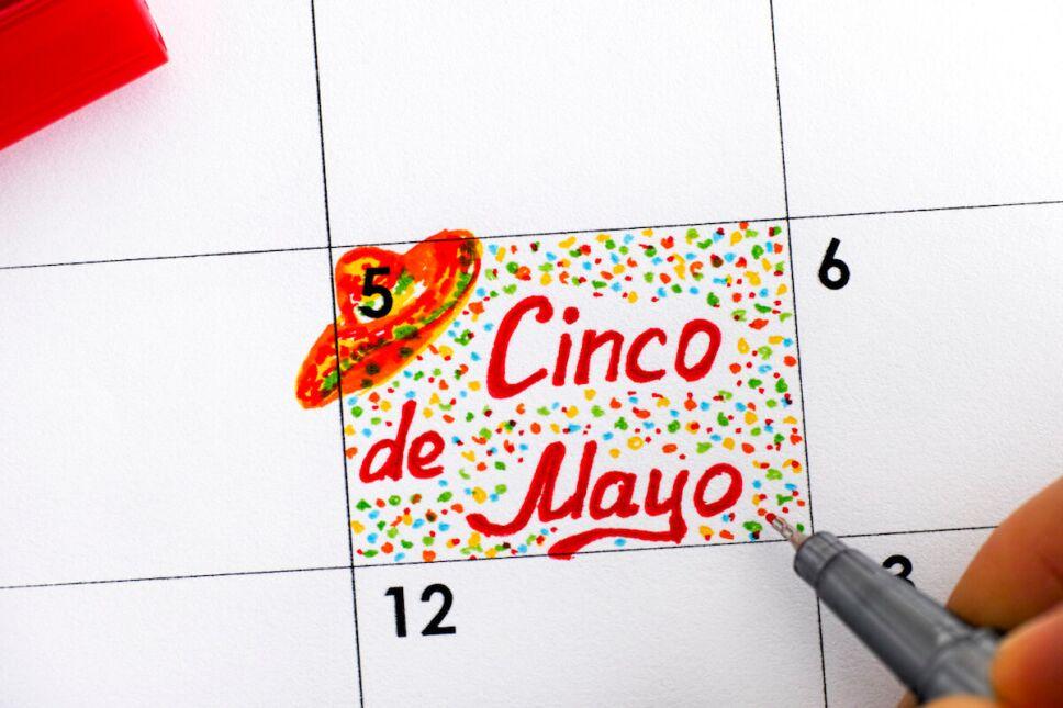 5 de mayo en el calendario