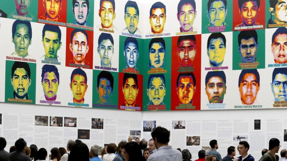 El caso de los 43 estudiantes desaparecidos hace cinco años es la investigación más grande jamás hecha por el gobierno, según la administración anterior. Sin embargo, también ha sido una de las más cuestionadas. Imagen: AP
