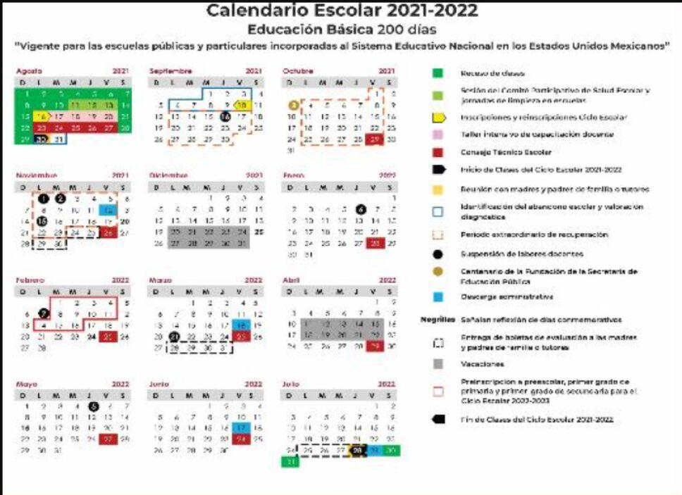 calendario-sep-2021-2022-puentes-vacaciones