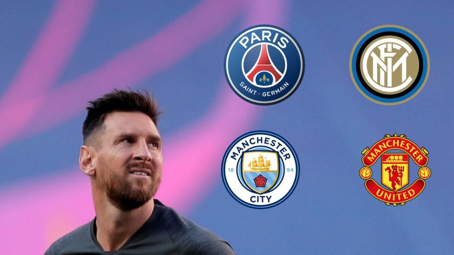 Los equipos con opciones de fichar a Lionel Messi