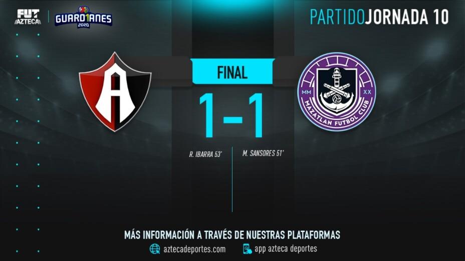 Cobertura EN VIVO: Atlas vs Mazatlán FC en Guardianes 2020 de la Liga MX
