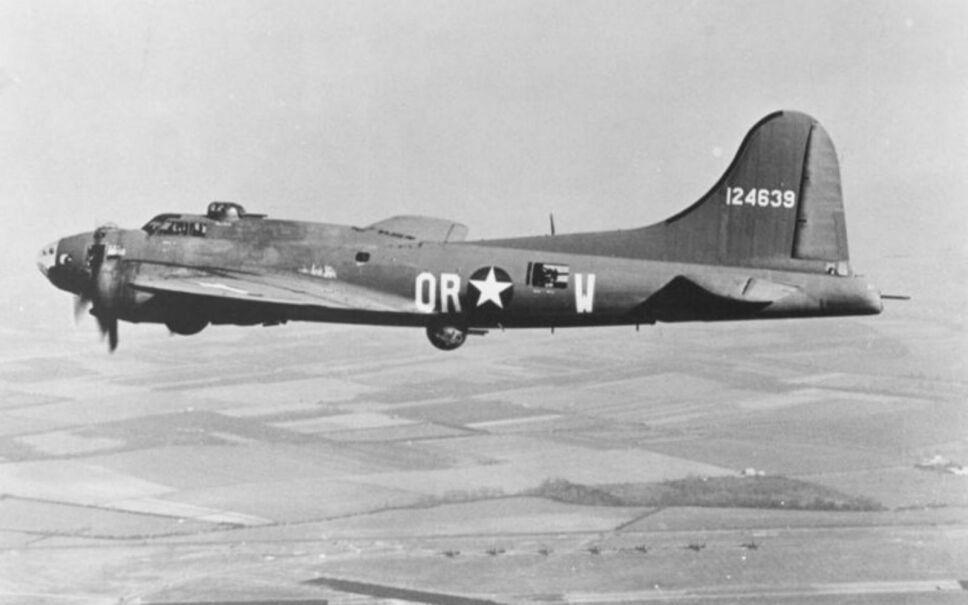 Un Boeing B-17 de la Fuerza Aérea del Ejército de los EEUU. Imagen, Wikimedia Commons.