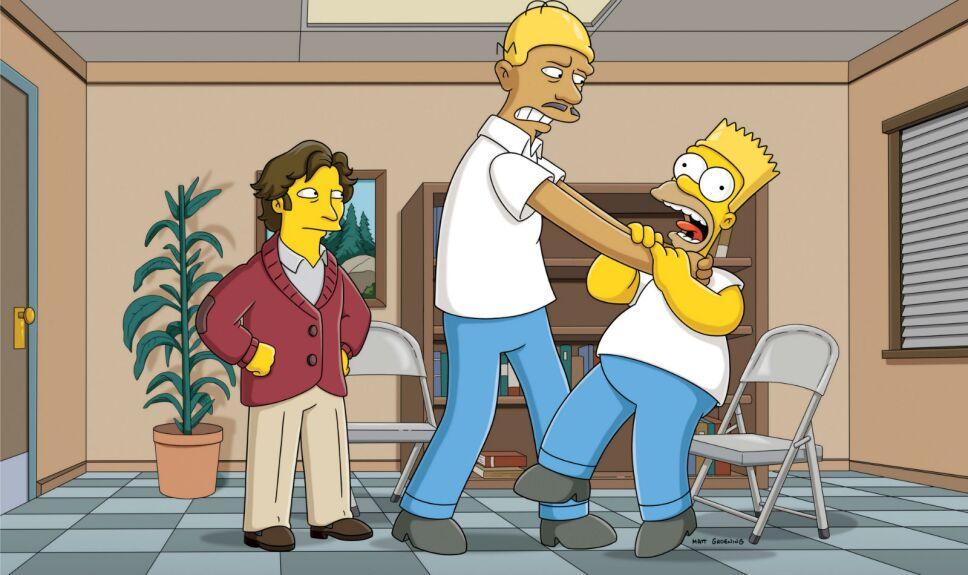 Los Simpson Las verdaderas esposas de Tony El Gordo