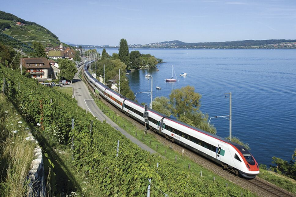 Tren de la empresa CFF, en Suiza/Foto: Blog Train of the day