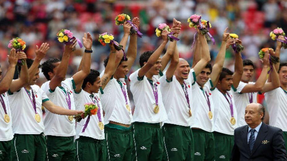 México gana medalla de oro en Londres