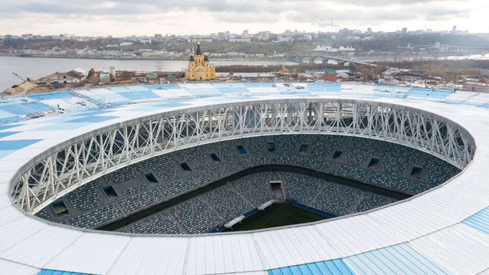 Toma aérea del estadio y la cuidad / Foto: Especial