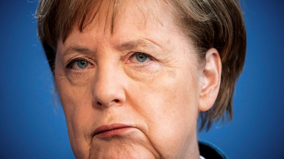 FILE PHOTO: German Chancellor Angela Merkel statement on the spread of the new coronavirus disease (COVID-19) in Berlin