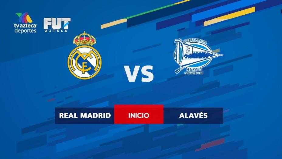 Minuto a minuto   Real Madrid ya vence al Alavés y saborea La Liga