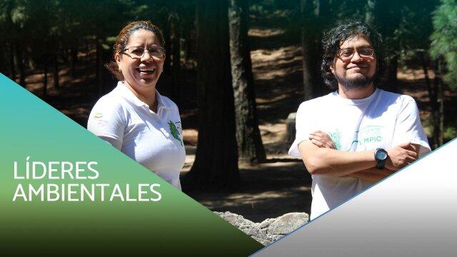 Líderes ambientales de la comunidad