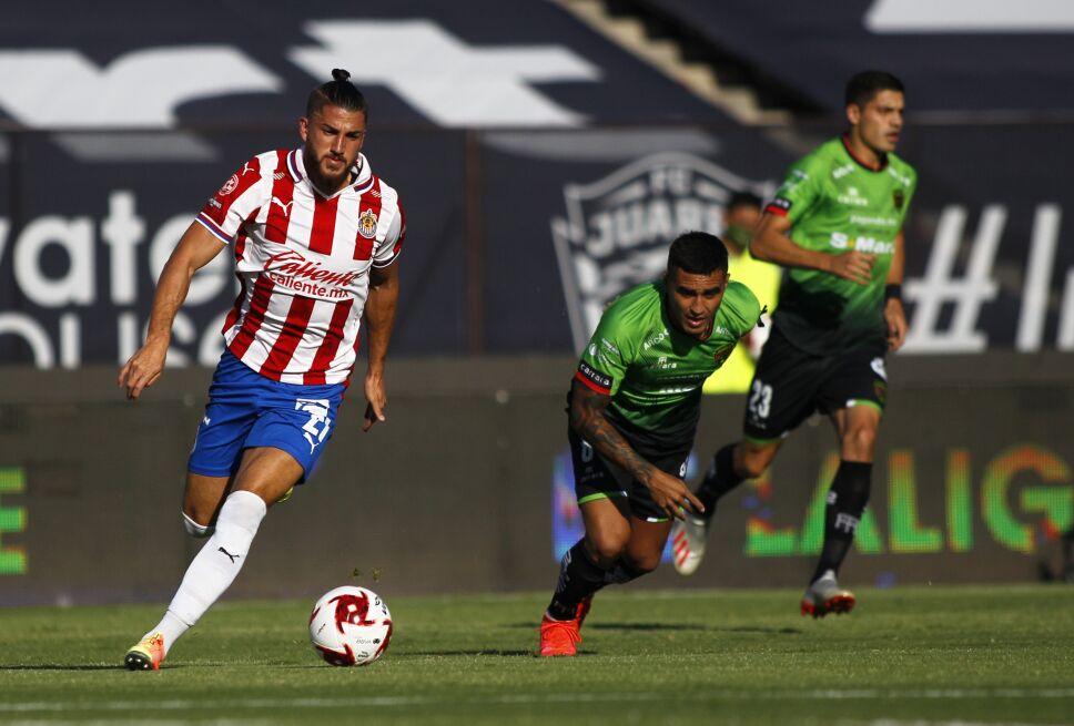 Juárez vs Chivas, jornada 4, Guardianes 2020.