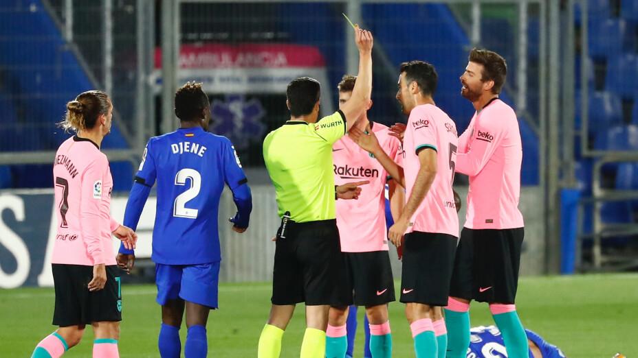 Barcelona cae ante el Getafe