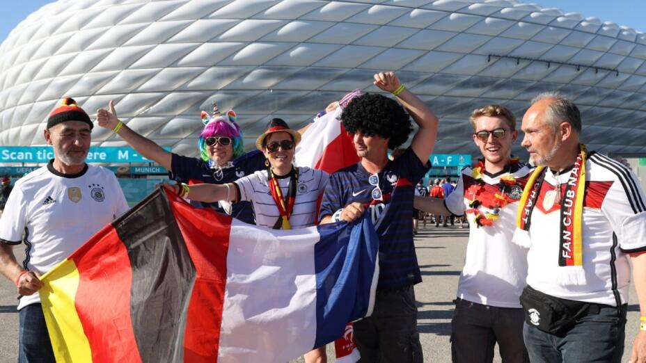 Aficionados de Francia y Alemania