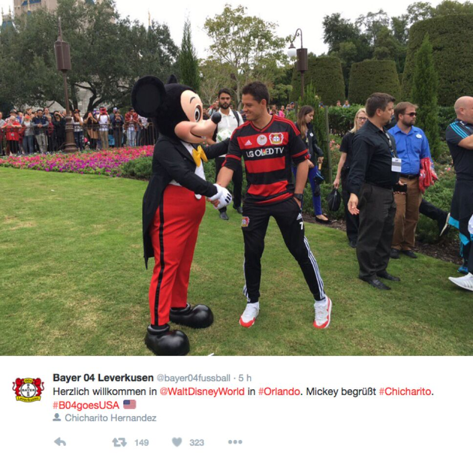 Bayer Leverkusen Disney