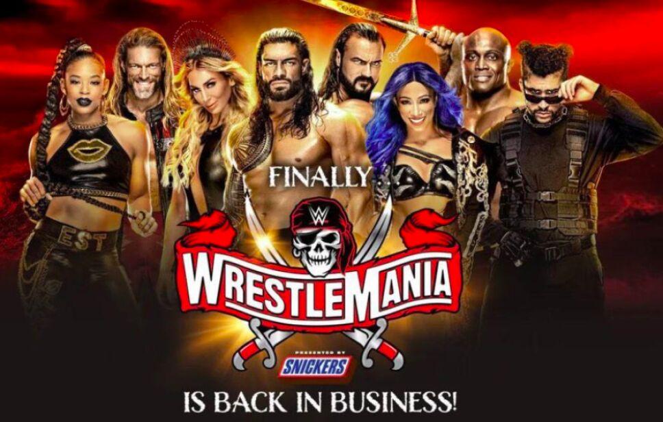 Wrestlemania 37 10 y 11 de abril