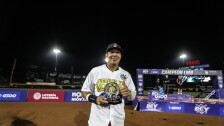Efrén Navarro MVP Serie del Rey Toros de Tijuana campeón