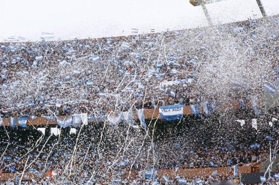 La afición abarrotó el Monumental de Argentina