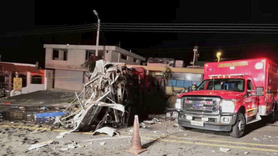 accidente ecuador colombia