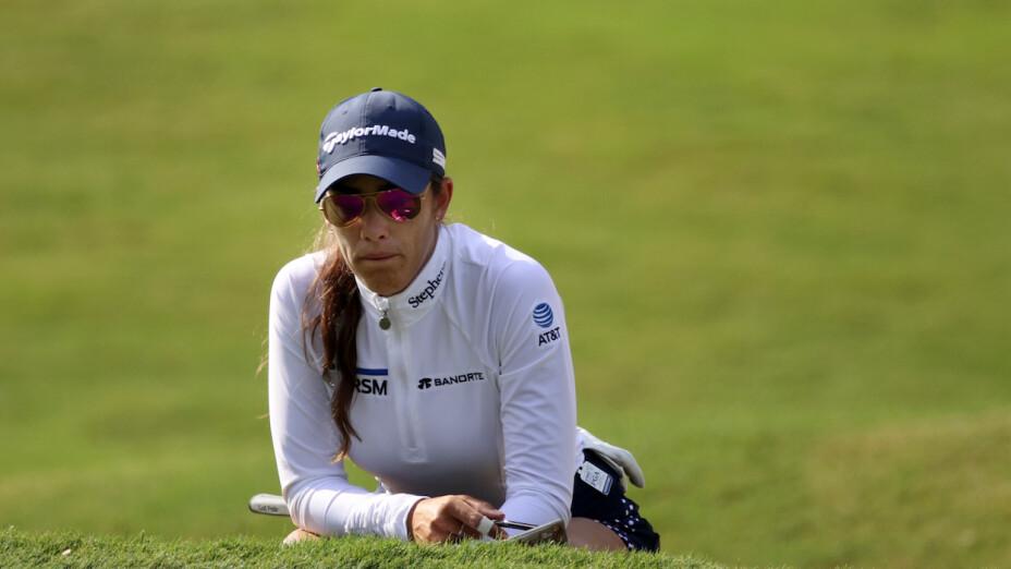 María Fassi recibió castigo en el KPMG Women's PGA Championship.
