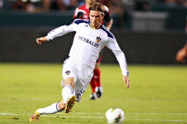 David Beckham con el LA Galaxy