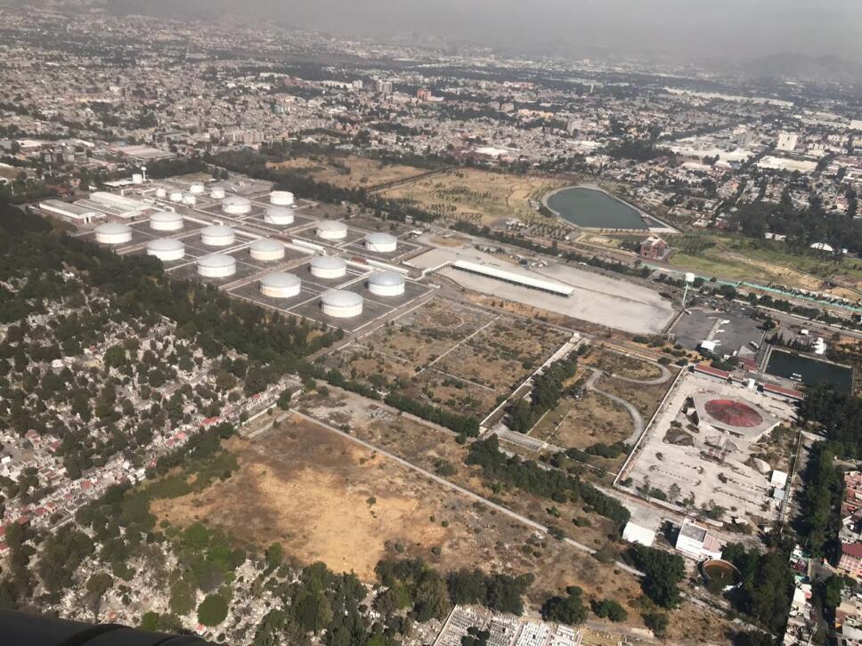 Semar realiza sobrevuelos en poliducto Tuxpan Azcapotzalco