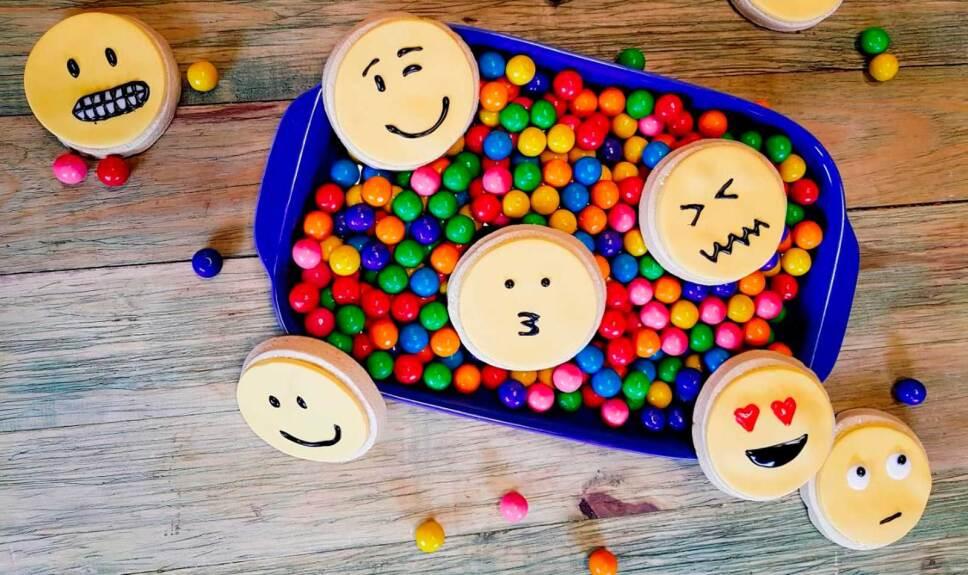 Receta Galletas emoji