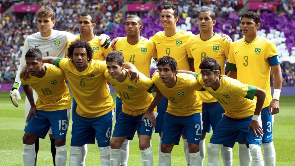 Alineación de brasil en la final de Londres 2012