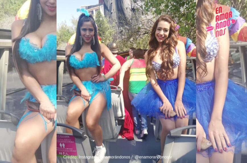Durzu y Luissana preparadas para el carnaval.