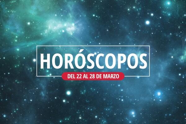 horoscopo semanal del 22 al 28 de marzo 2021