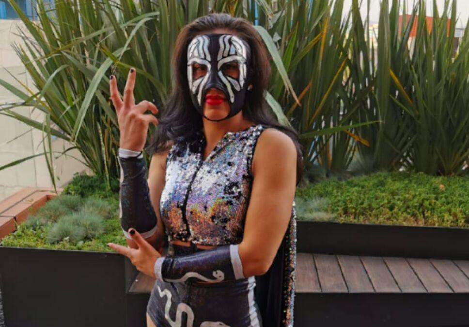 Faby Apache luchadora de AAA